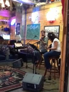 Sara and Fiddler Guy