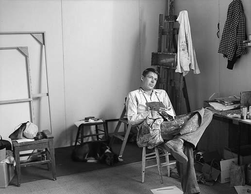 Diebenkorn --Portrait by Rose Mandel 1956