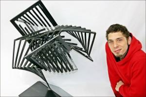 Fractal Vortex with Artist Heavy outline